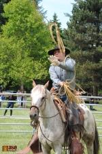 Westernový den v Semilech 2012. Ukázky Vaquero