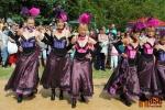 Westernový den v Semilech 2012. Kankán v podání jablonecké taneční skupiny Countryon