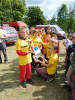 Mladí hasiči SDH Semily I na soutěži v Kundraticích