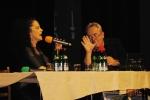 Radiodárek s Lucií Bílou věnovaný Vladimíru Komárkovi. Lucie Bílá a Alexander Hemala