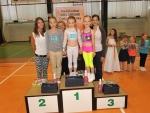 Regionální kolo Miss aerobik se konalo 3. června v Liberci. S číslem 20 stříbrná Anna Mifková