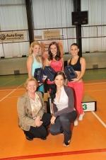 Regionální kolo Miss aerobik se konalo 3. června v Liberci. Tři nejlepší dívky v hlavní kategorii i s pořadatelkami
