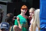 Semilská pouť 2012. Největší zájem fanoušků byl o skupinu Holki, fotograf bohužel přišel až po jejich poměrně krátkém vystoupení