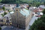 Pohledy na Semily z věže kostela sv. Petra a Pavla