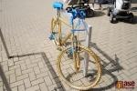 Na semilském náměstí se objevila nezvyklá jízdní kola, k čemu slouží?