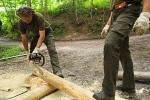 Pracovníci Správy KRNAP instalovali zábrany na okraj lesa v Bolkově