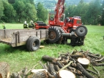 Podruhé v týdnu se převrátil traktor, v Košťálově byly následky tragické