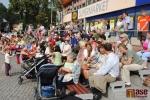 FOTO: Na náměstí v Semilech poděkovali olympionikovi Lukáši Melichovi