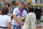 Semiláci poděkovali olympionikovi Lukáši Melichovi