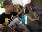Skautský tábor na Žumberku zpestřily vrtochy počasí a indiánské halekání