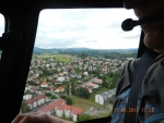 Petr Hlubuček se stal výhercem soutěže o fotky Turnova z paluby vrtulníku