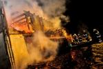 FOTO: Na Šluknovsku hořelo další stavení