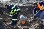 Na Vesecku u Turnova zavalila zemina dělníky, naštěstí šlo jen o cvičení