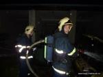 FOTO: V Rumburku opět řádil žhář