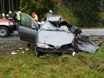 Tragická nehoda u Studence uzavřela silnici na Vrchlabí