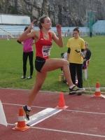 Atletka AC Syner Turnov Nikola Čejchanová