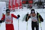 Nedělní závody v rámci Jilemnické padesátky 2013, Jan Čech a Dušan Kožíšek po doběhu závodu na 25 km