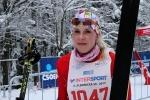 Nedělní závody v rámci Jilemnické padesátky 2013, druhá na 25 km klasicky Kristýna Kožnarová