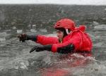 FOTO: Rybníky nejsou pro bruslaře bezpečné
