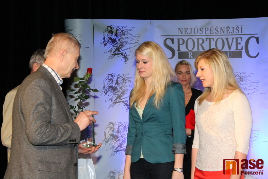 Sportovec okresu Semily za rok 2012, lyžařky z Jilemnice Sandra Schützová a Lucie Charvátová<br />Autor: Zdeněk Devátý