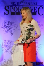 Sportovec okresu Semily za rok 2012, lyžařka Lucie Charvátová