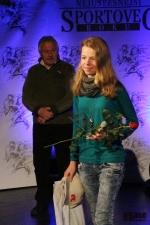 Sportovec okresu Semily za rok 2012, lyžařka Eliška Rysulová