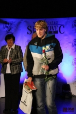 Sportovec okresu Semily za rok 2012, turnovský atlet Josef Egrt