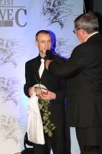 Sportovec okresu Semily za rok 2012, vítězný Roman Koudelka zpovídaný Štěpánem Škorpilem
