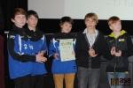 Vyhlášení ankety Sportovec Turnova za rok 2012, družstvo mladších žáků FK Pěnčín-Turnov