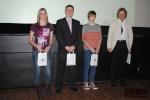 Vyhlášení ankety Sportovec Turnova za rok 2012, kategorie nadějí do 18 let