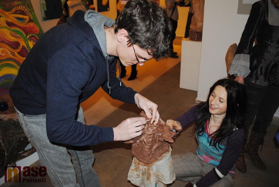 Výstava Každý člověk je umělec v Pojizerské galerii semilského muzea<br />Autor: Petr Ježek
