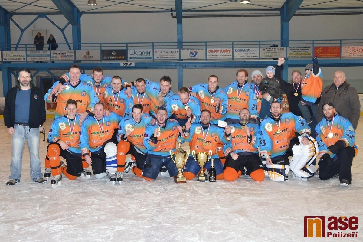 Finále Lomnické ligy 2013 BHK Turnov - HC Sokol Těpeře<br />Autor: Zdeněk Matura