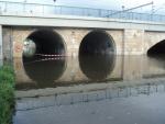 FOTO: Voda zaplavuje další části Děčína