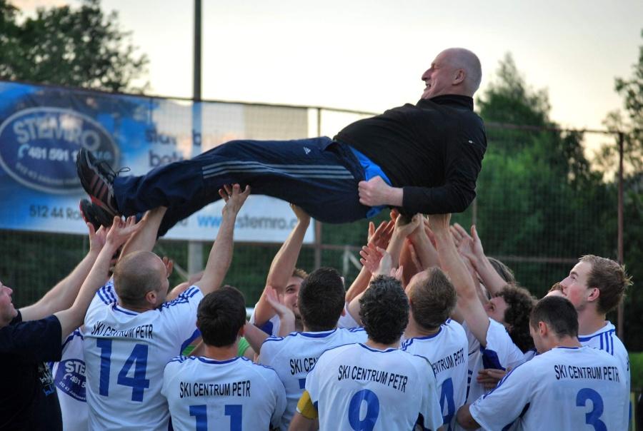 Finále krajského fotbalového poháru Sokol Jablonec nad Jizerou - VTJ Rapid Liberec<br />Autor: Simona Kloudová