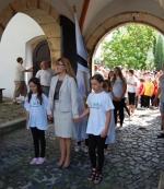 FOTO: Benešovský slunovrat zavítal i na zámek