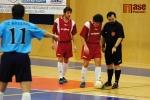 Zápas Dalmach Turnov (červené dresy) - Arsenal Benešov