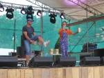 Druhá koncertní sobota v areálu Rotextile Rokytnice nad Jizerou, klaun Fílo
