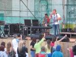 Druhá koncertní sobota v areálu Rotextile Rokytnice nad Jizerou, zpěvák David Deyl
