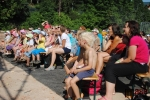 Třetí koncertní sobota v areálu Rotextile v Rokytnici nad Jizerou - vystoupení kouzelníka Pavla Kožíška s Hankou Mašlíkovou