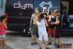 Třetí koncertní sobota v areálu Rotextile v Rokytnici nad Jizerou - příjezd Dymytry