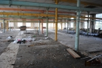 Areál Rotextile při začátku rekonstrukce