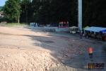 Areál Rotextile při začátku rekonstrukce - místo pro koncerty