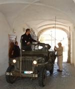 FOTO: Vojska opět obsadila děčínský zámek