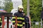 Družstvo hasičů Libereckého kraje na Mistrovství České republiky v T.F.A. na Andrlově Chlumu v Ústí nad Orlicí