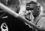 Národní liga boxu v Turnově - zápas Dominika Veseckého