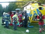 FOTO: Motorkáři skončili v nemocnici