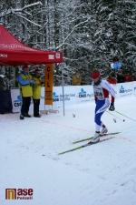 Vítěz závodu na 25 km klasicky Petr Remeš