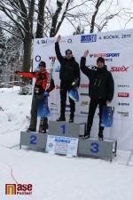 Nejlepší tři muži v závodě na 50 km