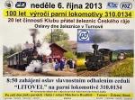 Oslavy železnice v Českém ráji na turnovském nádraží