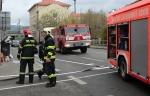 FOTO: Zanesený komín přidělal práci hasičům